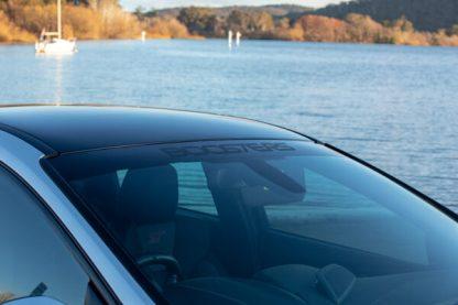 BooSTeRS Stealth windscreen visor