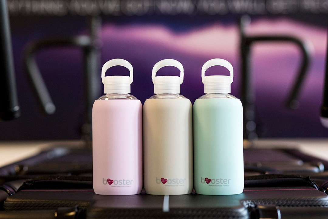 small booster bottles