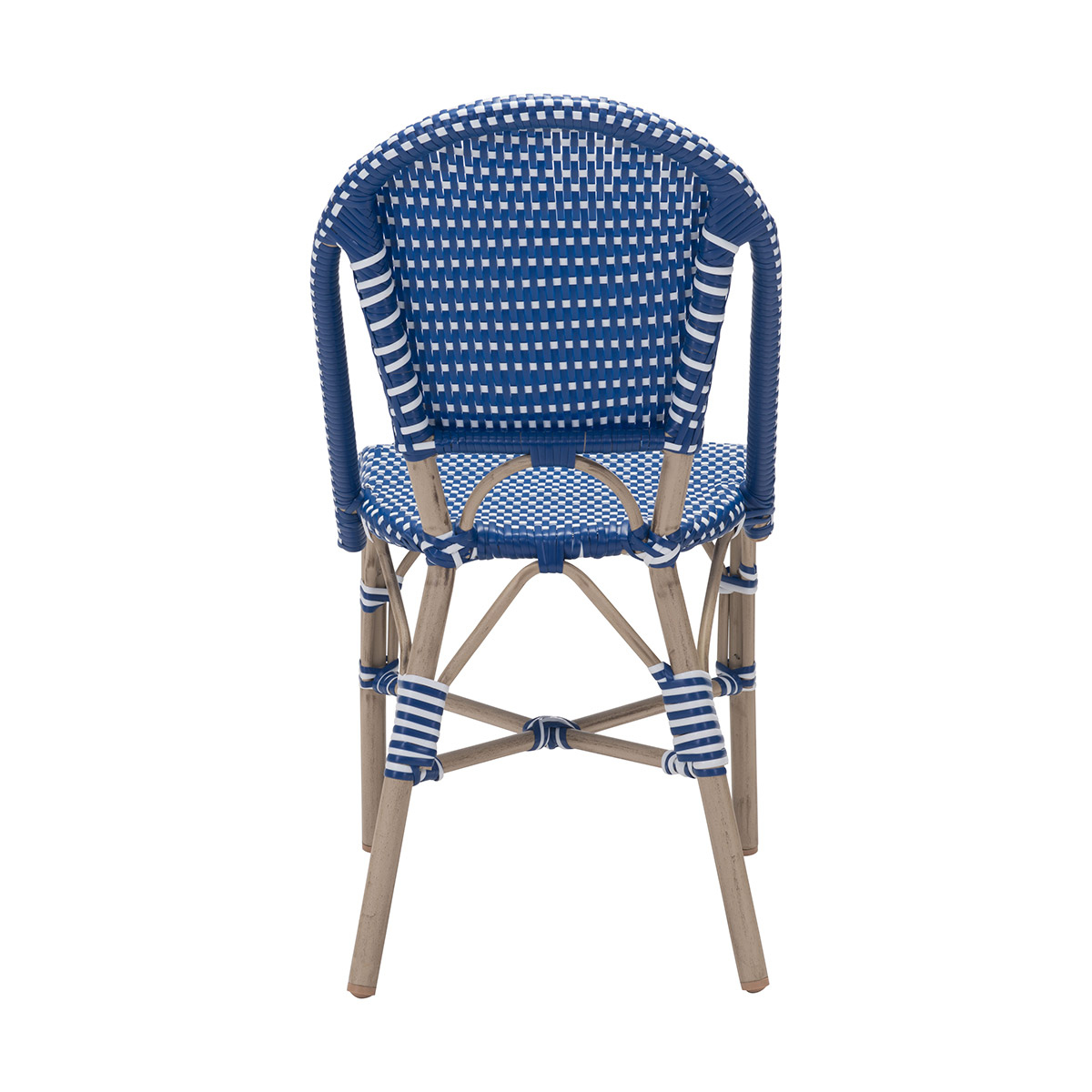 Navy Blue Dining Chairs Zuo Paris Dining Chair In Navy Blue And White Boost Home