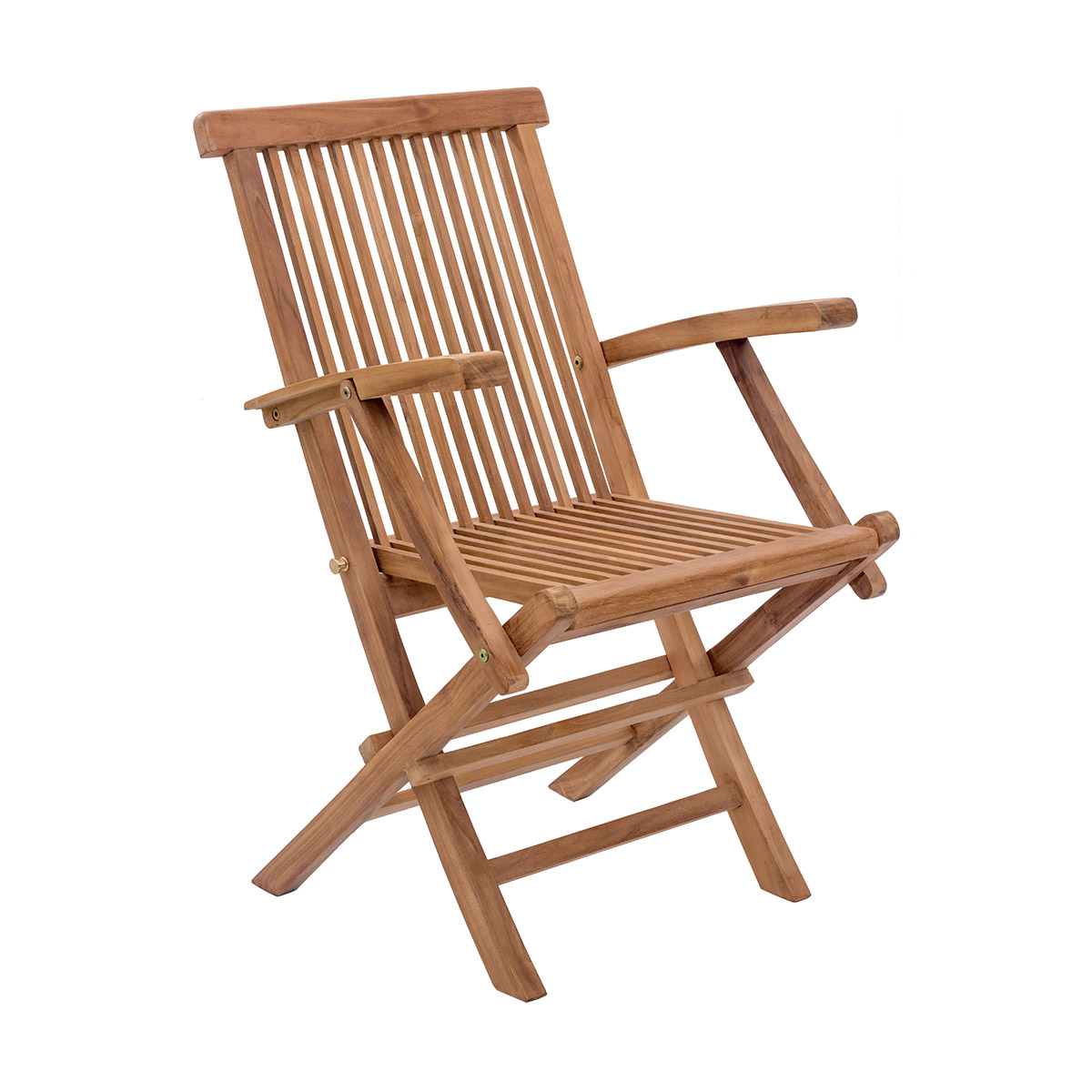 Folding Arm Chair Zuo Regatta Folding Arm Chair Natural Boost Home