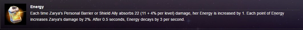 hots zarya trait