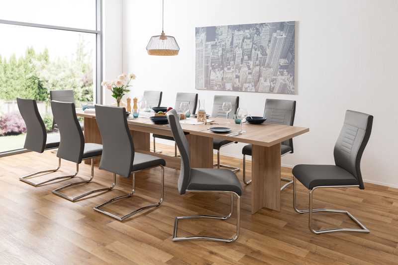 ancona table a manger extensible 8 12