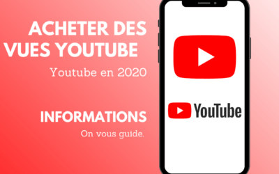 Acheter des vues Youtube en 2020