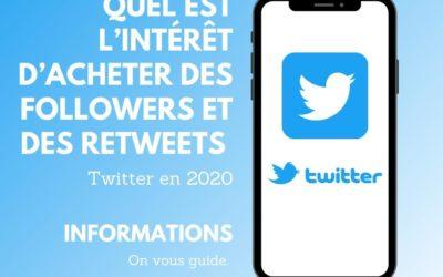Quel est l'intérêt d'acheter des followers et des retweets sur Twitter en 2020 ?
