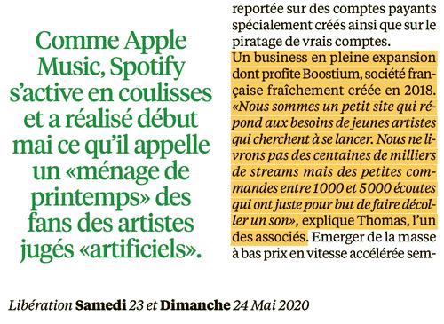 boostium article libération magazine