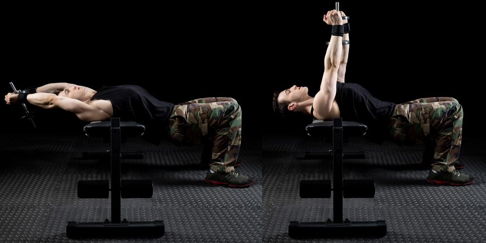 I workout di Calum Von Moger - petto II settimana