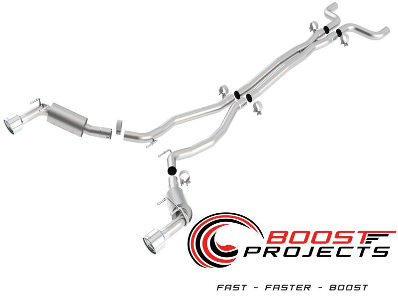 Borla 2010-2013 Camaro SS 6.2L V8 Auto/Manual RW Cat-Back