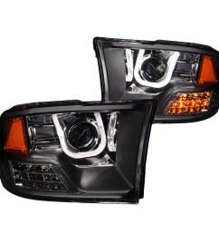 anzo projector headlights u bar black for 09 17 dodge ram 1500anzo headlight wiring diagram  [ 1500 x 1500 Pixel ]