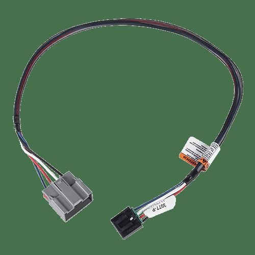 Tekonsha Brake Control Wiring Adapter 2 Plugs for 18-20