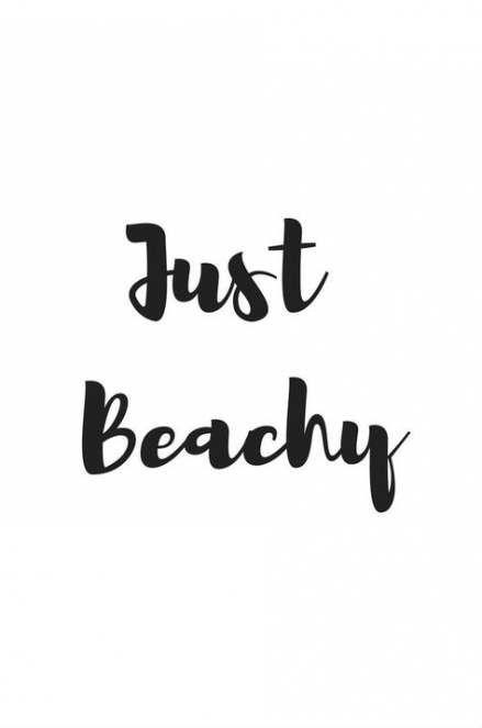 Just Beach - Short Beach Quotes