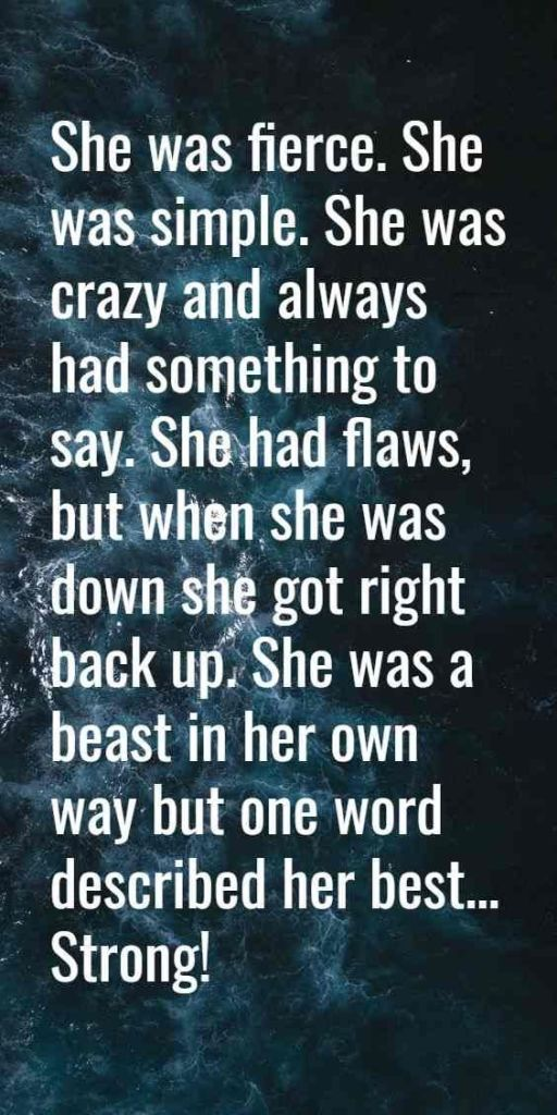 quotes about being strong for women