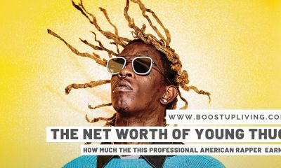Net Worth Of Young Thug - How Much The THIS Professional American Rapper Earns