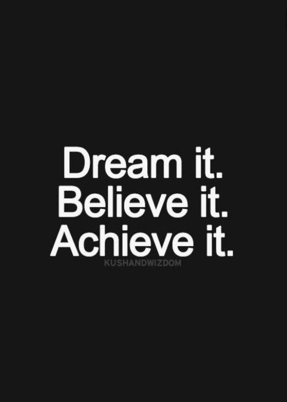 Dream It. Believe it. Archive it.