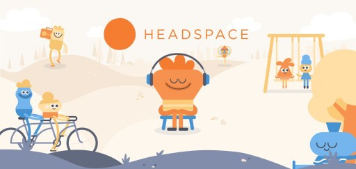 the Headspace app - Space and Lifestyle for Better Sleep