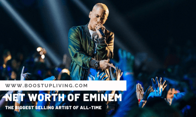 "Net Worth of Eminem – ""The Biggest Selling Artist Of All-Time"""