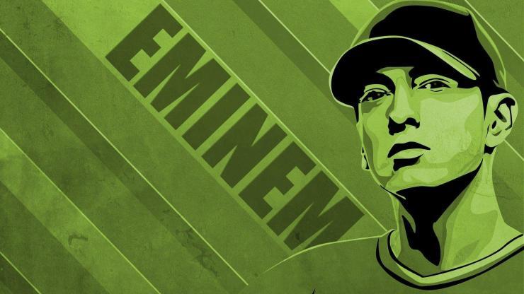Eminem Album Poster