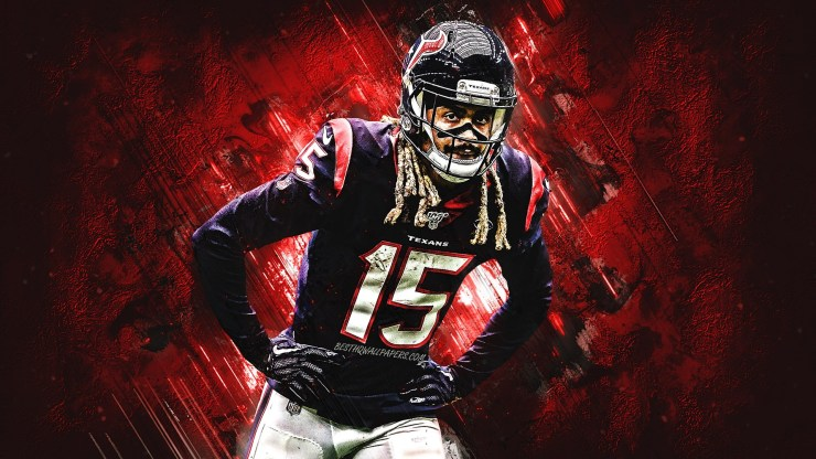 Will Fuller With His 15 Jersey Wallpaper