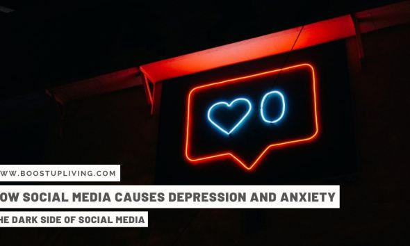 How Social Media Causes Depression And Anxiety - The Dark Side Of Social Media