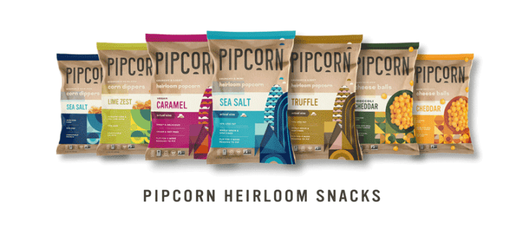 Pipcorn Product Lineup in 2021