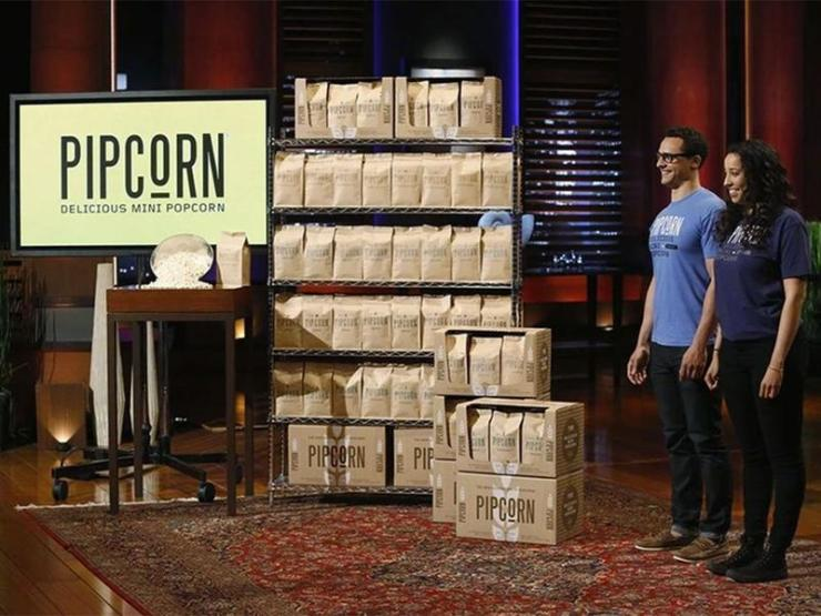 This is how Pipcorn appeared in Shark Tank - This is the beginning of earning Net worth of Pipcorn