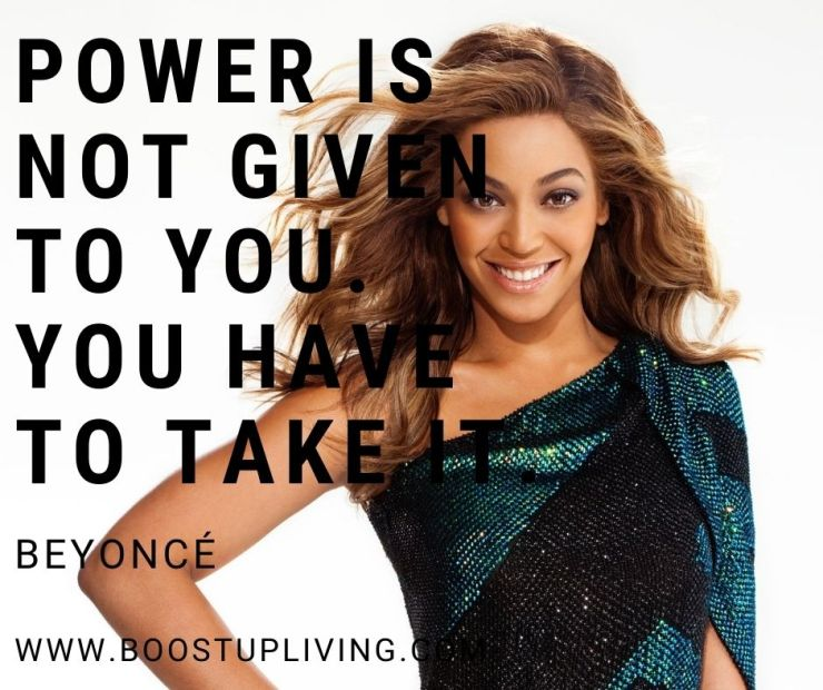 Never let success go to your head. Never let failure get to your heart. By Beyoncé