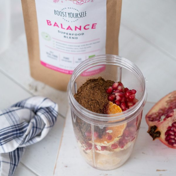 Boost Yourself Balance Multivitamin superfood blend
