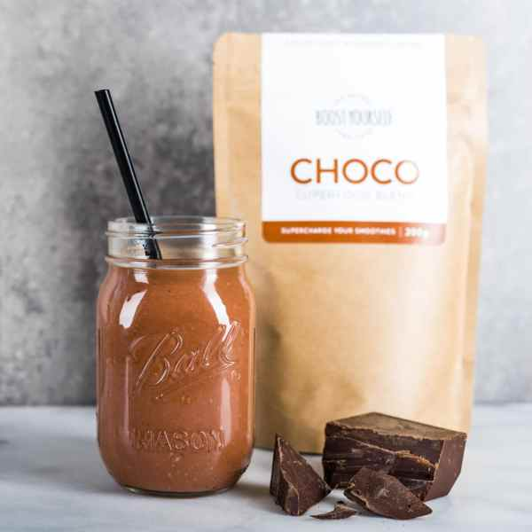 Chocolate cacao smoothie