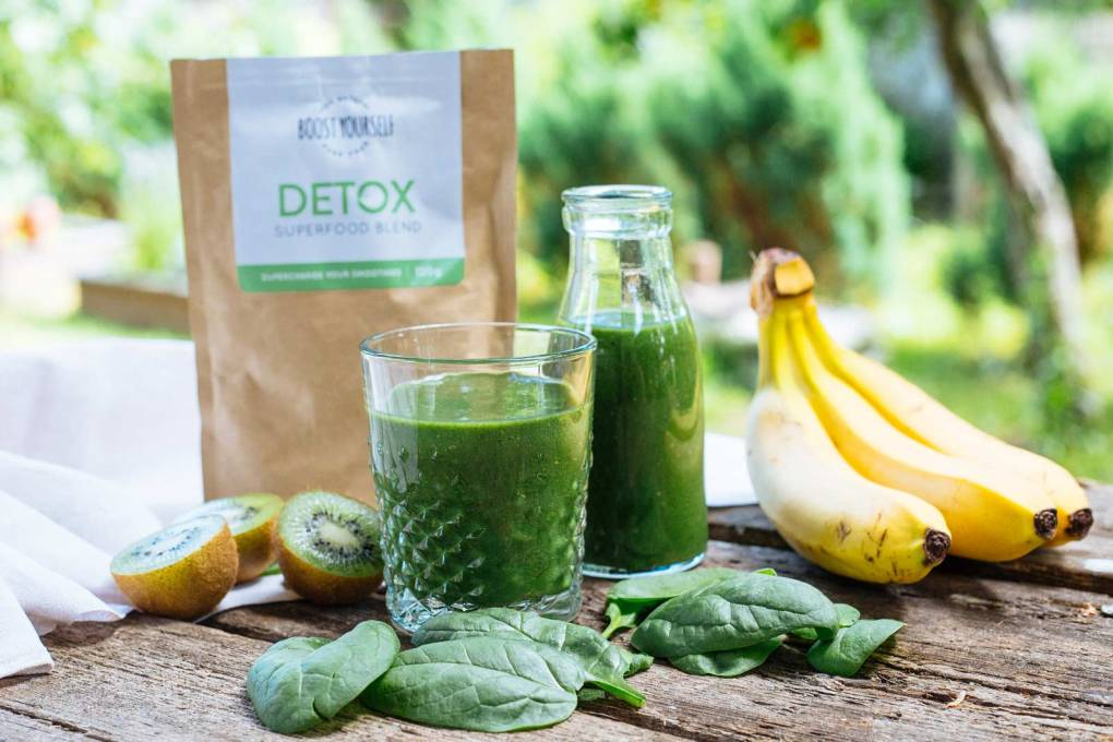Green smoothie Detox plan by Boost Yourself