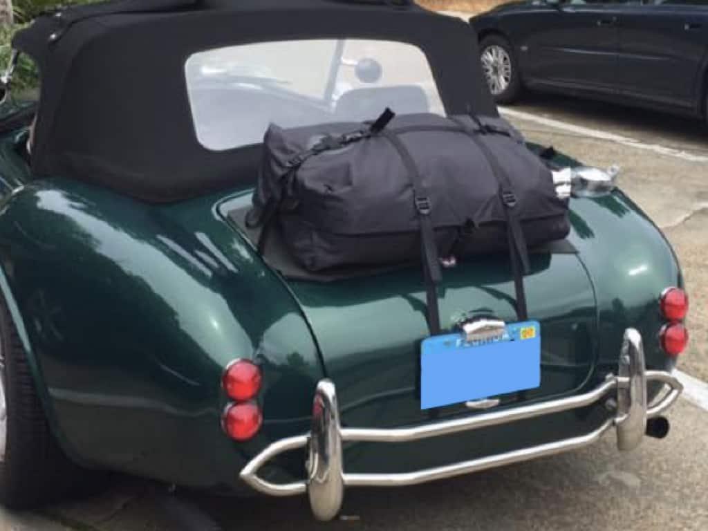 ac cobra trunk luggage rack unique alternative to a metal rack