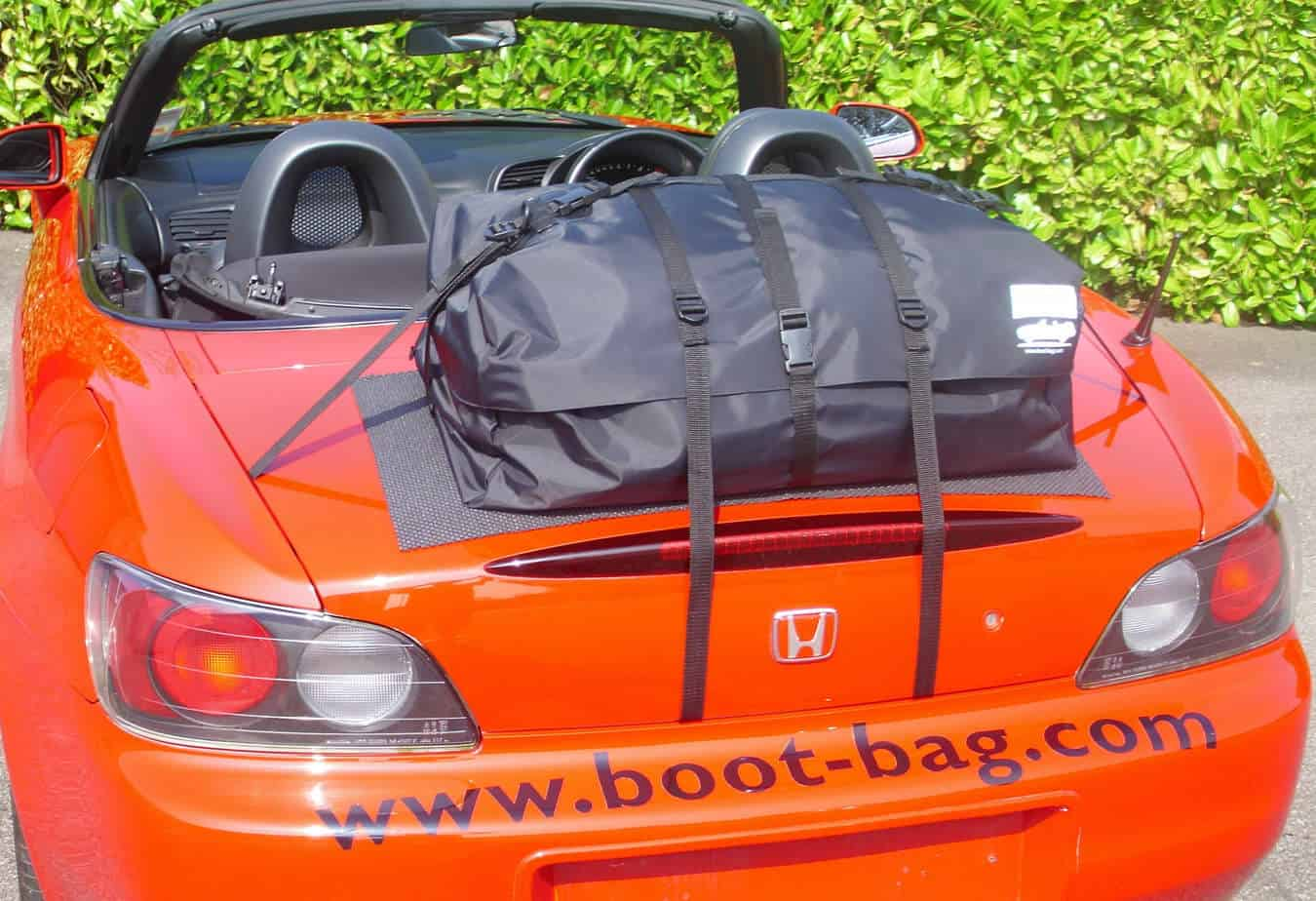 Bootbag Sports Car Boot Luggage Rack Attached To