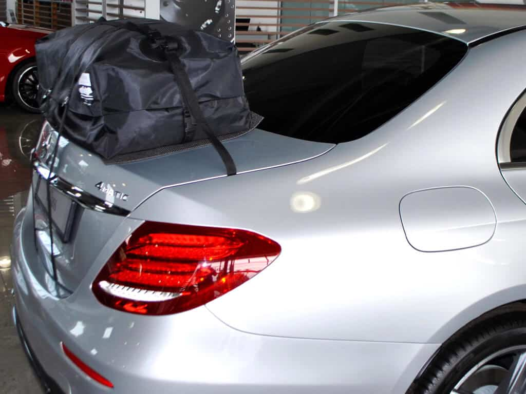 Mercedes E Class Saloon Roof Box Luggage Carrier Car