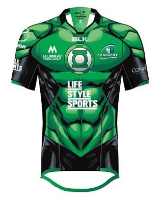 Connacht Green Lantern Front