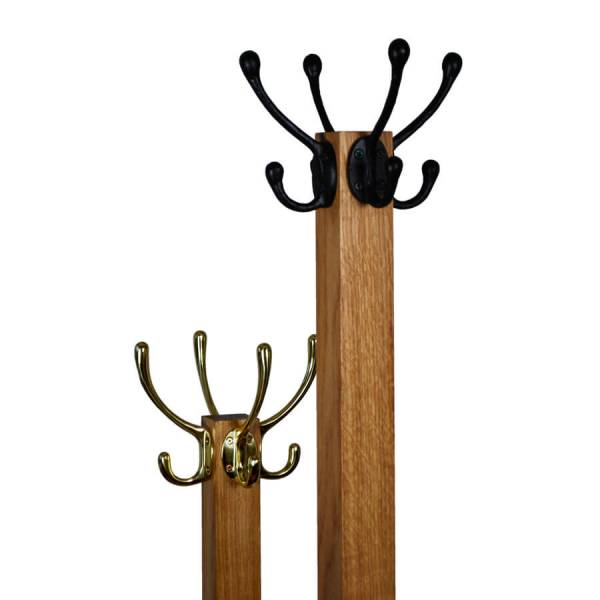 Oak Coat and Hat Stand