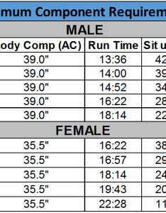 Air force physical fitness test bootcamp me also af pt chart frodo fullring rh