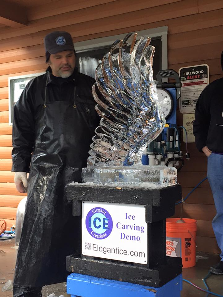 Aaron Costic Doing Ice Wing Demonstration Class
