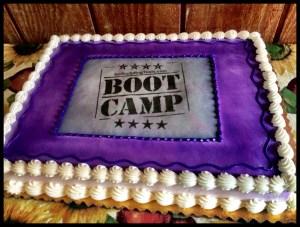 Boot Camp Cake