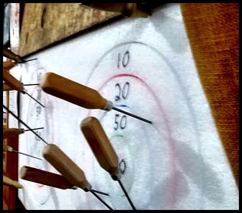 Ice Pick Darts