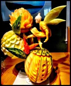 Fruit Sculpture