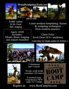 Wood Boot Camp Flyer