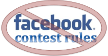 Facebook contest promotion rules