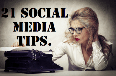 21 social media tips