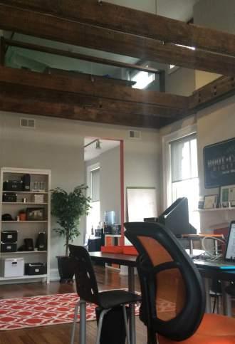 Our new social media office in OTR Cincinnati