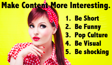 Make your social content more interesting