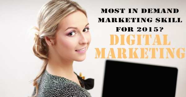 Digital marketing skills in demand 2015