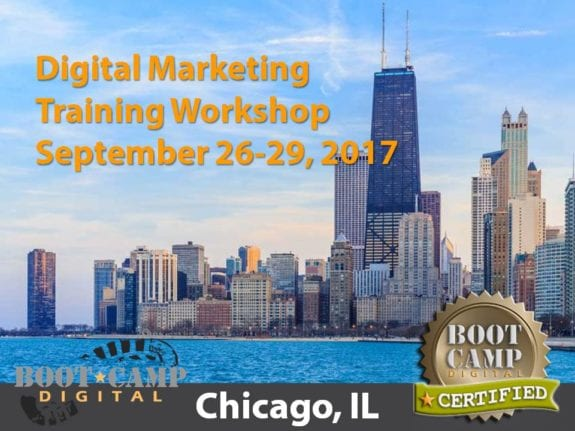 Chicago digital marketing training workshop