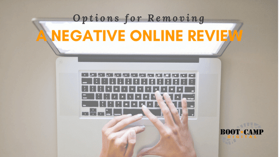 negative online review, removing a negative online review, negative yelp review, negative facebook review, negative google review, bad online review