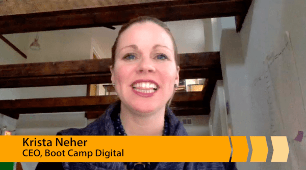 Facebook strategy video with Krista Neher