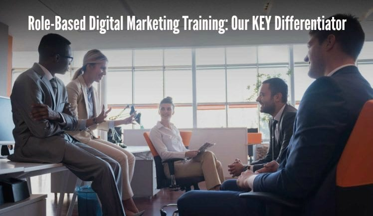 role-based digital marketing training, role-based social media training, digital marketing training, social media training, corporate training