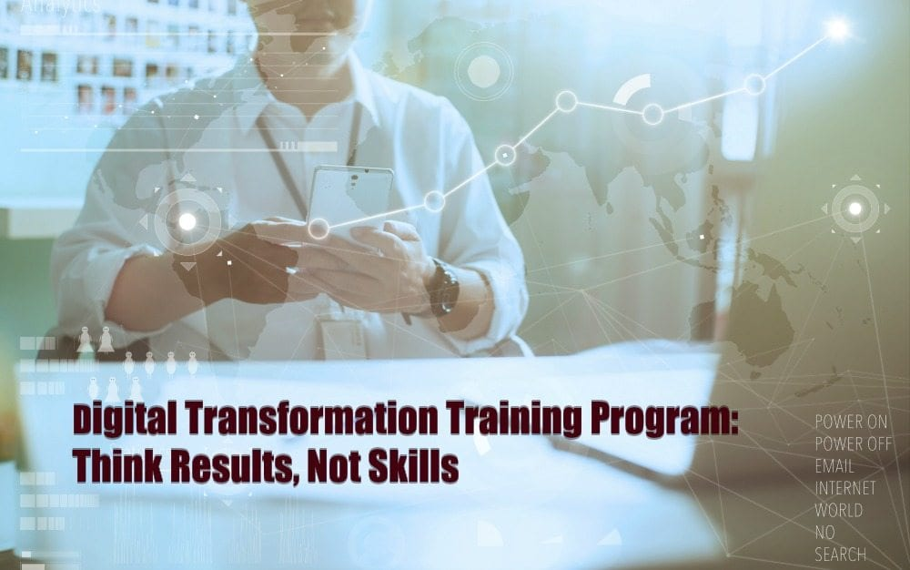digital transformation, digital transformation training, digital marketing training