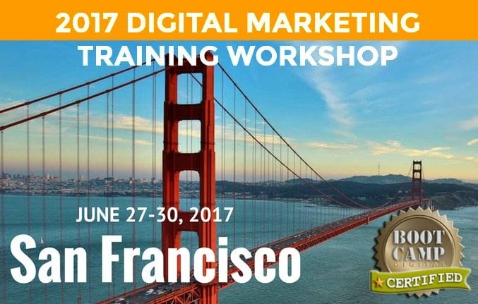 San Francisco Digital Marketing Training Workshop, digital marketing class, digital marketing class, social media training, San Francisco, northern california